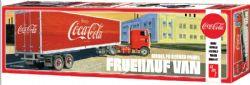 SEMI-REMORQUE -  FRUEHAUF VAN MODEL FB BEADED PANEL COCA-COLA TRAILER 1/25 (SKILL LEVEL 3 - MODERATE)