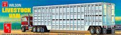 SEMI-REMORQUE -  WILSON LIVESTOCK TRAILER VAN 1/25 (MODERATE)