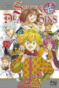 SEVEN DEADLY SINS -  ÉDITION LIMITÉE AVEC 7 BADGES (FRENCH V.) 24