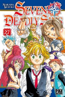 SEVEN DEADLY SINS -  (FRENCH V.) 27