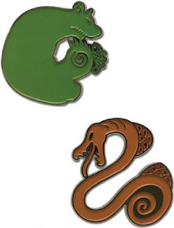 SEVEN DEADLY SINS -  SIN OF ENVY & SIN OF SLOTH PINS