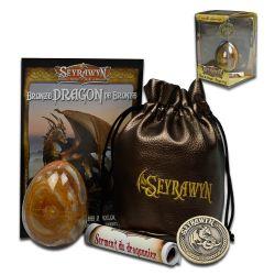 SEYRAWYN -  BRONZE DRAGON EGG (COLLECTOR SET)