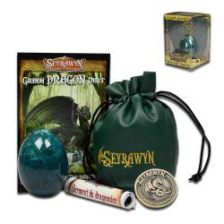 SEYRAWYN -  GREEN DRAGON EGG (COLLECTOR SET)
