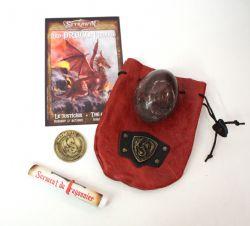 SEYRAWYN -  RED DRAGON EGG (COLLECTOR SET)