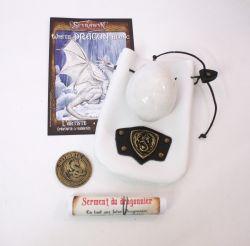 SEYRAWYN -  WHITE DRAGON EGG (COLLECTOR SET)