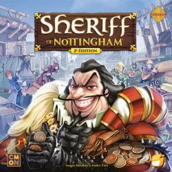 SHERIFF OF NOTTINGHAM -  BASE GAME - 2ND EDITION (FRENCH)
