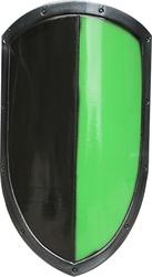 SHIELDS -  READY FOR BATTLE SHIELD - BLACK/GREEN