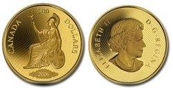 SHINPLASTER -  1900 SHINPLASTER, VIGNETTE OF BRITANNIA -  2006 CANADIAN COINS