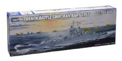 SHIP -  FRENCH BATTLE SHIP JEAN BART 1955 1/700 (CHALLENGING)