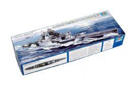 SHIP -  FRENCH BATTLE SHIP RICHELIEU 1943 1/700 (CHALLENGING)
