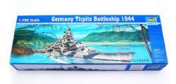SHIP -  GERMANY TIRPITZ BATTLESHIP 1944 1/700 (CHALLENGING)