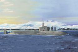 SHIP -  RUSSIAN NAVY PROJECT 955 BOREI-YURI DOLGORUKY SSBN - 1/350