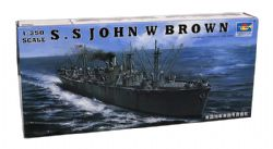 SHIP -  S.S JOHN W BROWN 1/350 (CHALLENGING)