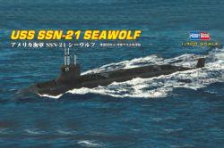 SHIP -  SSN-21 SEAWOLF ATTACK SUBMARINE - 1/350