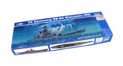 SHIP -  US BATTLESHIP BB-64 WISCONSIN 1991 1/700 (CHALLENGING)