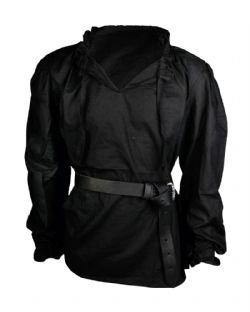 SHIRTS -  BASTIAN SHIRT - BLACK