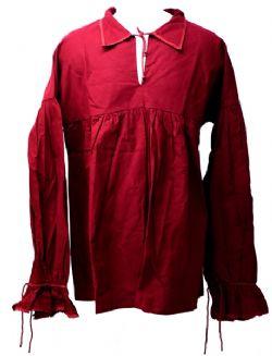 SHIRTS -  SHIRT ARAMIS - DARK RED