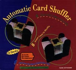SHUFFLERS -  AUTOMATIC CARD SHUFFLER (6 DECKS)