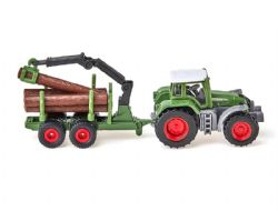 SIKU -  TRACTOR WITH FORESTRY TRAILER 1645