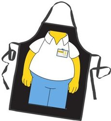 SIMPSONS, THE -  HOMER SIMPSON APRON ( ONE SIZE )