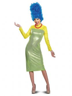SIMPSONS, THE -  MARGE DELUXE COSTUME (ADULT)