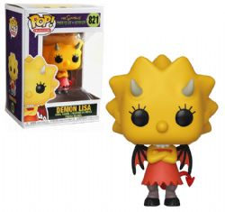 SIMPSONS, THE -  POP! VINYL FIGURE OF DEMON LISA (4 INCH) -  TREEHOUSE OF HORROR 821
