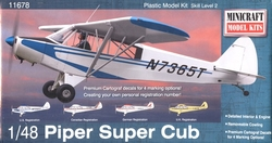 SMALL AIRPLANES -  PIPER SUPER CUB 1/48 (LEVEL 2)