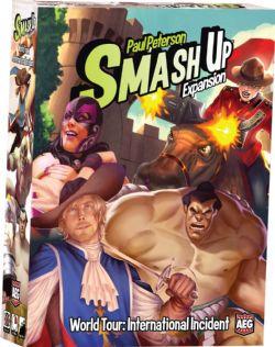 SMASH UP -  WORLD TOUR: INTERNATIONAL INCIDENT (ENGLISH)