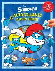 SMURFS -  AUTOCOLLANTS - ALBUM GÉANT