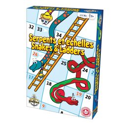 SNAKES AND LADDERS -  VERTICAL EDITION (BILINGUAL)