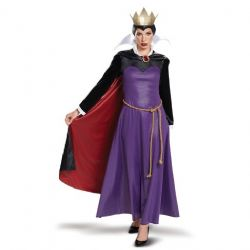 SNOW WHITE -  EVIL QUEEN COSTUME (ADULT)