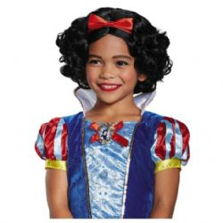 SNOW WHITE -  SNOW WHITE WIG - BLACK (CHILD) -  DISNEY'S PRINCESSES
