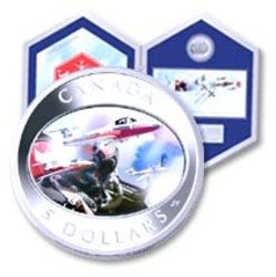SNOWBIRDS -  2006 CANADIAN COINS