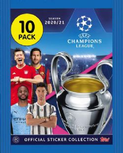 SOCCER 2020-21 -  TOPPS - CHAMPION LEAGUE STICKERS (P10/B30)