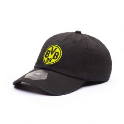 SOCCER -  BORUSSA DORTMUND HAT - BLACK - ADJUSTABLE