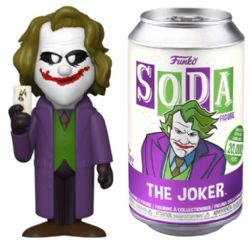 SODA VINYL FIGURE OF JOKER HEATH LEDGER (4 INCH) -  FUNKO SODA