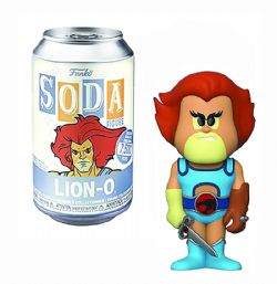 SODA VINYL FIGURE OF THUNDERCATS LION-O (4 INCH) -  FUNKO SODA