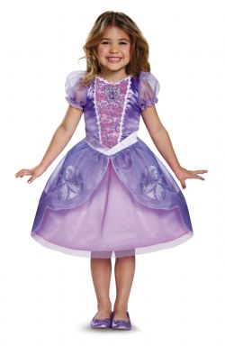 SOFIA THE FIRST -  SOFIA COSTUME (CHILD) -  DISNEY JUNIOR