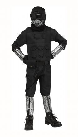 SOLDIER -  GAMING FIGHTER COSTUME (CHILD)