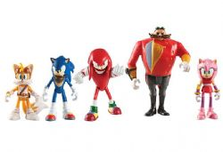 SONIC THE HEDGEHOG -  SET OF 5 ACTION FIGURES (TAILS, AMY, SONIC, KNUCKLES, DR.EGGMAN)