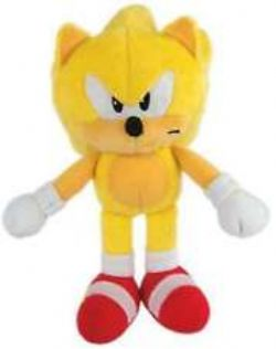 SONIC THE HEDGEHOG -  SUPER SONIC PLUSH (8