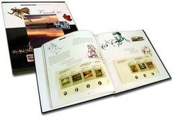 SOUVENIR ALBUM -  THE COLLECTION CANADA'S STAMPS 1995