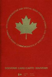 SOUVENIR ALBUM -  THE COLLECTION OF CANADA'S STAMPS 1972