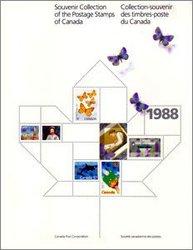 SOUVENIR ALBUM -  THE COLLECTION OF CANADA'S STAMPS 1988