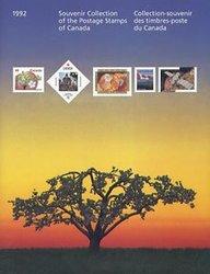 SOUVENIR ALBUM -  THE COLLECTION OF CANADA'S STAMPS 1992