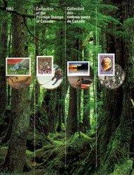 SOUVENIR ALBUM -  THE COLLECTION OF CANADA'S STAMPS 1993