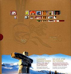 SOUVENIR ALBUM -  THE COLLECTION OF CANADA'S STAMPS 2010