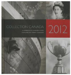 SOUVENIR ALBUM -  THE COLLECTION OF CANADA'S STAMPS 2012