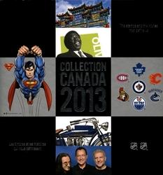 SOUVENIR ALBUM -  THE COLLECTION OF CANADA'S STAMPS 2013