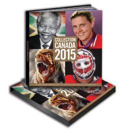SOUVENIR ALBUM -  THE COLLECTION OF CANADA'S STAMPS 2015